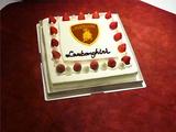 ランボルギーニのケーキ